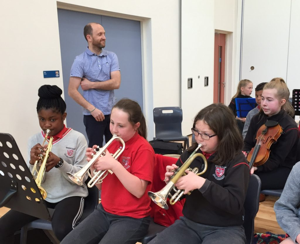 Music on the Move 🎶 | Ennis National School